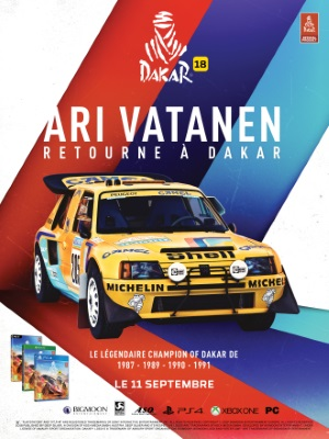 info utiles dakar 18 ari vatanen fait son retour. Black Bedroom Furniture Sets. Home Design Ideas