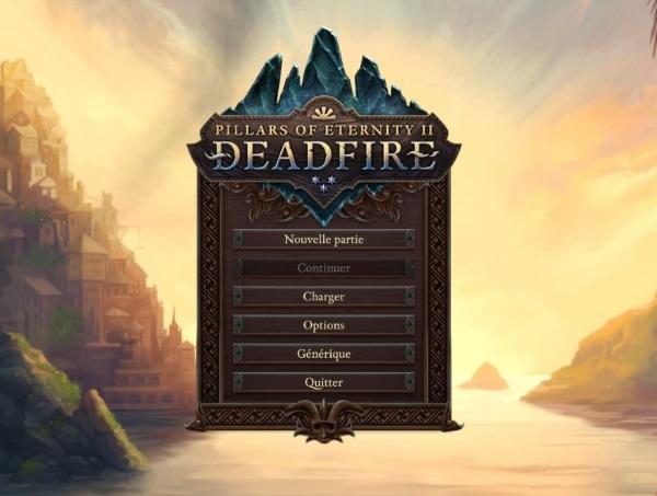 info utiles - Pillars of Eternity II: Deadfire : RPG - Test PC
