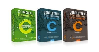 Info utiles logiciel cordial 2013 le correcteur de - Office de la langue francaise correcteur ...