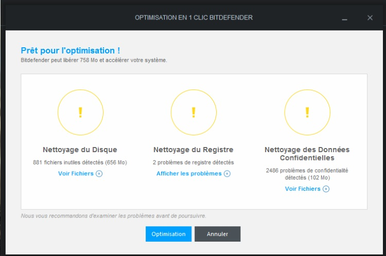 Bitdefender total security 2015 test pc version for Bloqueur de fenetre pop up
