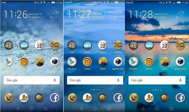 Info utiles smartphone honor 7 l 39 exp rience de l for Photo ecran honor 7